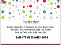 "picture of ""Talents de femmes"""