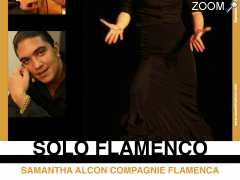 "picture of Spectacle ""SOLO FLAMENCO"", Samantha Alcon Cie Flamenca"